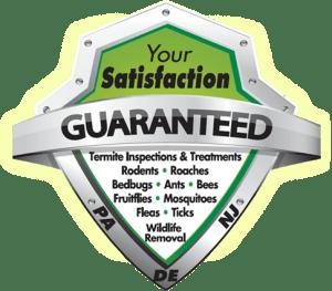 your satisfaction guaranteed badge. PA, NJ, DE