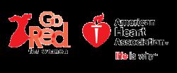 go-red-for-women-american heart association logo